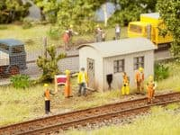 NOCH HO Scale Track Construction Deco Scene # N12011